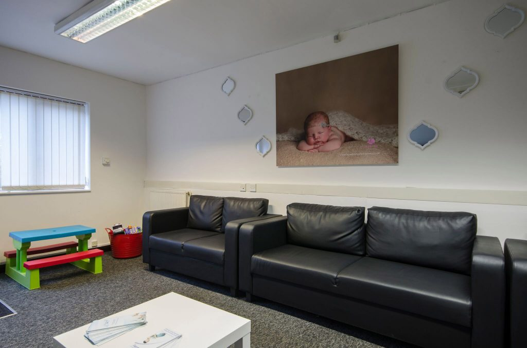 baby scan waiting area