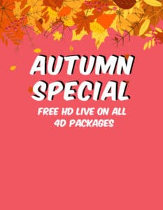 Autumn Special Advert 3